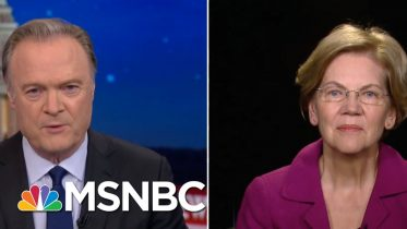 Sen. Elizabeth Warren: Mitch McConnell Doesn't Want A Fair Trial | The Last Word | MSNBC 10