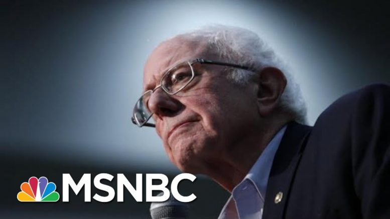 Trump Allies Talk Up Bernie Sanders As His Numbers Surge In Iowa | The 11th Hour | MSNBC 1