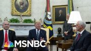 Why President Donald Trump Might Not Fight On Executive Privilege | Morning Joe | MSNBC 3