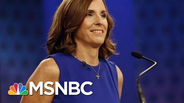 New Ad From Conservative Group Criticizes Sen. Martha McSally | Morning Joe | MSNBC 1