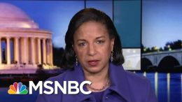 Rice: Risks Likely Outweigh Benefits Of Killing Qassem Soleimani   Rachel Maddow   MSNBC 1