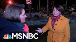Amy Klobuchar Talks Campaign Priorities On Iowa Trip Amid Impeachment Trial   Katy Tur   MSNBC 3