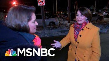 Amy Klobuchar Talks Campaign Priorities On Iowa Trip Amid Impeachment Trial | Katy Tur | MSNBC 6