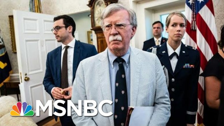 John Bolton 'Implied' Misconduct In Marie Yovanovitch Ouster In Call, Rep Eliot Engel Claims | MSNBC 1