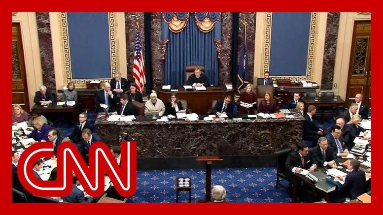 The question key GOP senators asked Trump's legal team 1