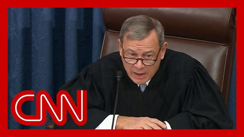John Roberts refuses to read Rand Paul's question 1