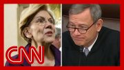Sen. Warren's question takes aim at Chief Justice Roberts 3