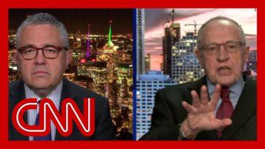 Watch Dershowitz's former student challenge his argument 6