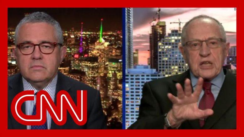 Watch Dershowitz's former student challenge his argument 1