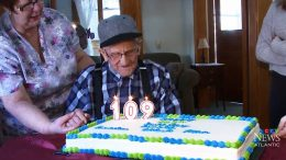 Canada's oldest man still lives in a home he built himself in the 1930s 2