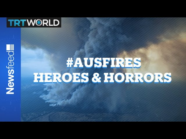 Australia in flames - evacuations continue as the bush fires get worse 1