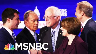 Sanders, Bloomberg Take Blows In Combative South Carolina Debate - Day That Was | MSNBC 6