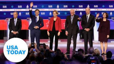 Democratic candidates debate before South Carolina and Super Tuesday   USA TODAY 10