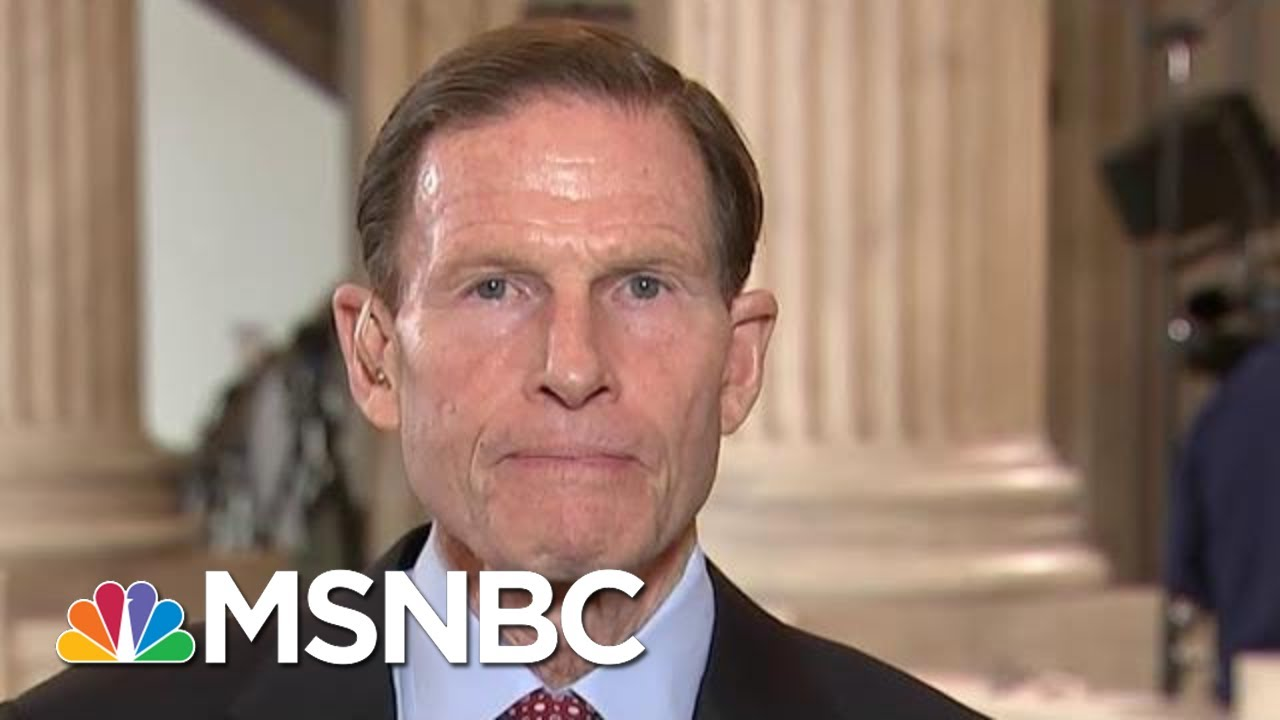 Sen. Blumenthal: What Trump Did Was 'Classic Bribery' | Hallie Jackson | MSNBC 8