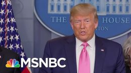 Markets Tanked On Coronavirus Fears. Trump Blamed Democrats. | The 11th Hour | MSNBC 5