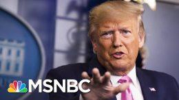 Reality Of Coronavirus Will Challenge Trump's Habit Of Making Things Up | The 11th Hour | MSNBC 5