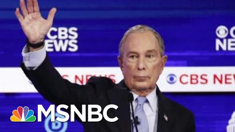 Joe: Mike Bloomberg Is Now Hurting Joe Biden | Morning Joe | MSNBC 1