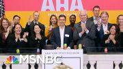 Stock Market Plunges As Coronavirus Fears Grip Wall Street | Hallie Jackson | MSNBC 3