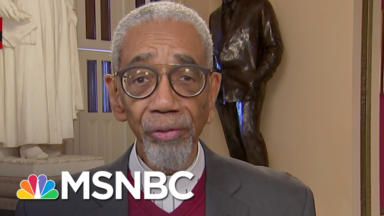 Bobby Rush: Congress Was Determined To Pass Bill Making Lynching Hate Crime   Velshi & Ruhle   MSNBC 1