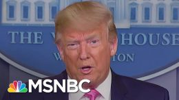 President Trump Contradicts Health Officials on Coronavirus Response | Andrea Mitchell | MSNBC 6