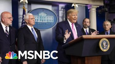 Report: White House Locking Down Messaging From Federal Government On Coronavirus | Deadline | MSNBC 10