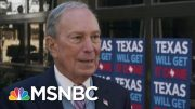 Mike Bloomberg: 'What, Am I Going To Quit? No' | MTP Daily | MSNBC 2