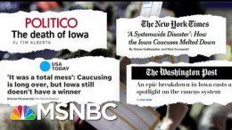 What's Next For The Iowa Caucus? | Craig Melvin | MSNBC 5