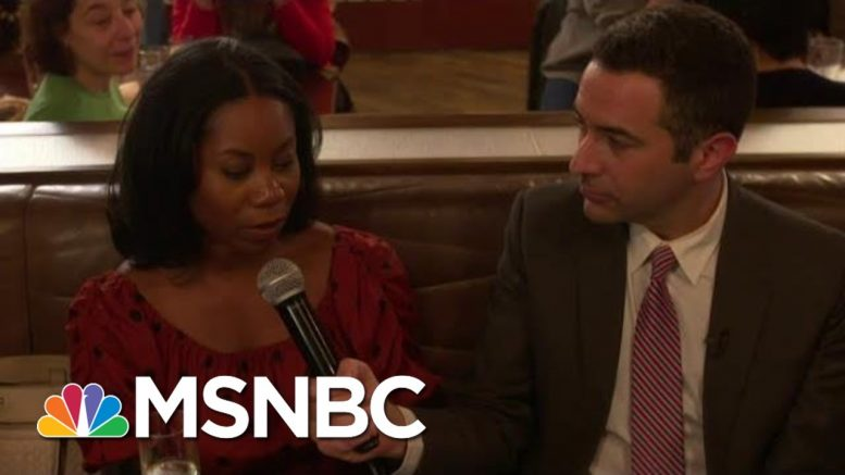 Dem voters: Bernie Sanders Can Beat Trump And 'Republican Decoy' Bloomberg | MSNBC 1