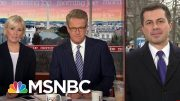 Buttigieg Reacts To Support From Mika's Daughters | Morning Joe | MSNBC 3