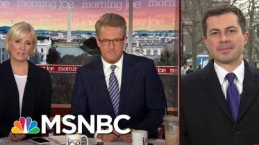 Buttigieg Reacts To Support From Mika's Daughters | Morning Joe | MSNBC 6