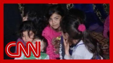 Family creates underground home to escape airstrikes in Syria 10