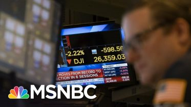 Is Trump Team's Coronavirus Response Making Things Worse On Wall Street? | The 11th Hour | MSNBC 10