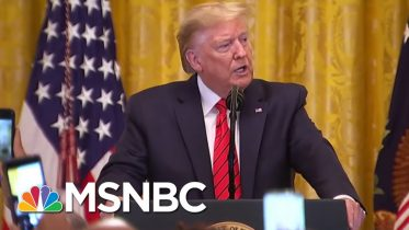 Rpts: Trump Team's Coronavirus Response Mired By Protocol Breakdown | The 11th Hour | MSNBC 6