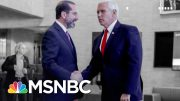 Trump Team's Coronavirus Rhetoric At Odds With Scientists And Health Experts | The 11th Hour | MSNBC 4