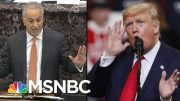 President Donald Trump Legal Defense Or Trump Rally Speech? | The 11th Hour | MSNBC 3