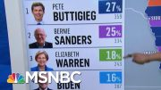 Iowa Democrats Release First Batch Of Results | MSNBC 3
