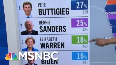Iowa Democrats Release First Batch Of Results | MSNBC 6