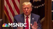 Trump Dissembling, Mixed Messages Hurt U.S. Coronavirus Response | Rachel Maddow | MSNBC 4