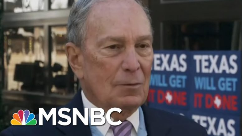 Michael Bloomberg: I Know How To Go Head-To-Head With Trump | Morning Joe | MSNBC 1