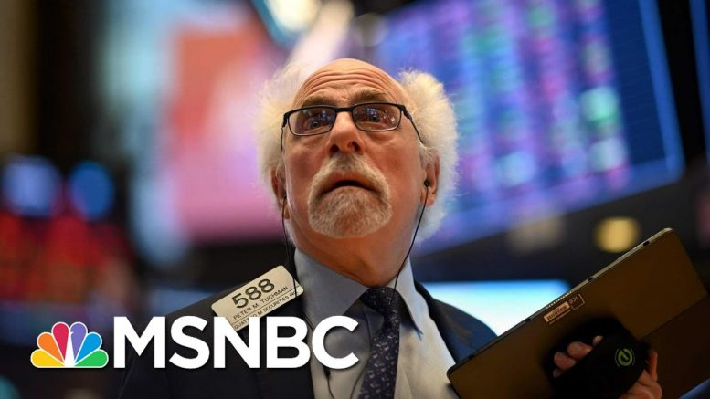 Dow Drops 800 At Open, Extending Worst Week Since Financial Crisis | Velshi & Ruhle | MSNBC 1