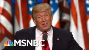 President Donald Trump: Coronavirus Will Disappear One Day 'Like A Miracle' | Deadline | MSNBC 3