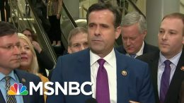 Trump Nominates Rep. John Ratcliffe To Be Director Of National Intelligence | MTP Daily | MSNBC 3