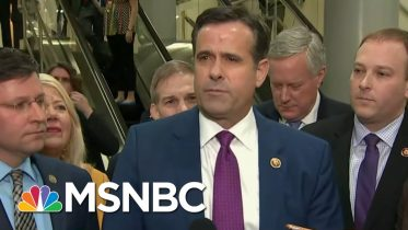 Trump Nominates Rep. John Ratcliffe To Be Director Of National Intelligence   MTP Daily   MSNBC 6