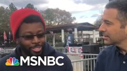 Young Voter Recounts Shifting Parents From Biden To Sanders In S.C.   MSNBC 6