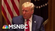 Trump Faces Crisis Of Confidence And Competence Over Coronavirus | The Last Word | MSNBC 3
