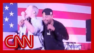 Tom Steyer's dance with rapper Juvenile goes viral 6