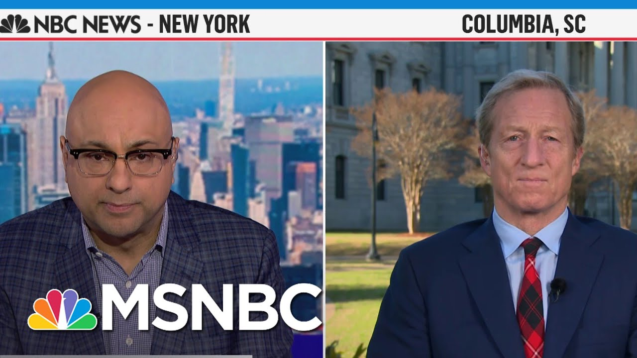 """Steyer: There Is A """"Gross Racial Injustice"""" On The Issues 