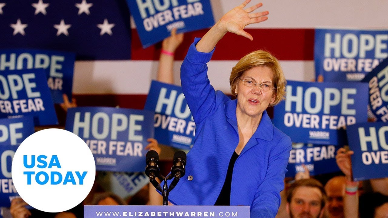 Elizabeth Warren: 'if people not money come first, this campaign is for you.' | USA TODAY 1