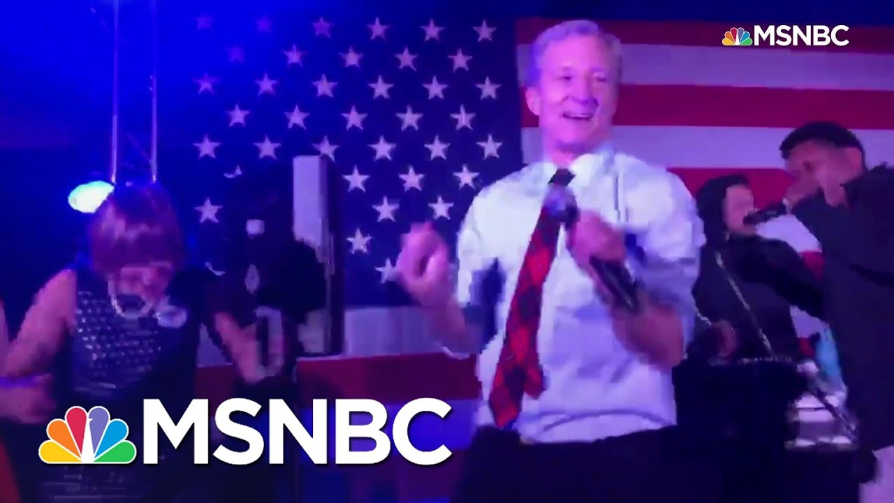 Steyer Dances To Back That Thang Up Before S.C. Primary | MSNBC 2