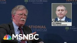 Lev Parnas Reacts To Reports Of Bolton Book Revelations, Expects More   Rachel Maddow   MSNBC 9